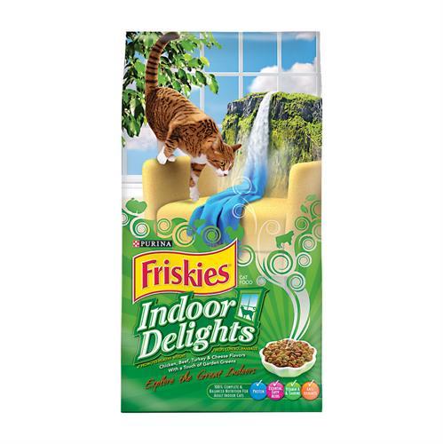 """פריסקיז מעדני הבית מזון לחתולים 7.27 ק""""ג Friskies Indoor Delights"""
