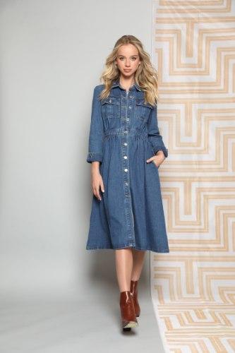 שמלת ג'ינס קורל