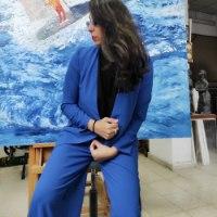 ג'קט מחוייט CLASIC - כחול רויאל