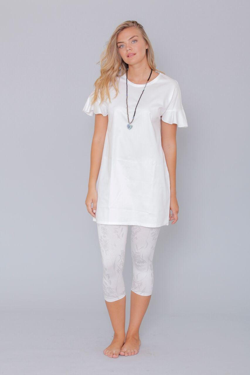 שמלת כנפיים לבנה