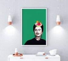 הדפס ציור- פרידה קאלו