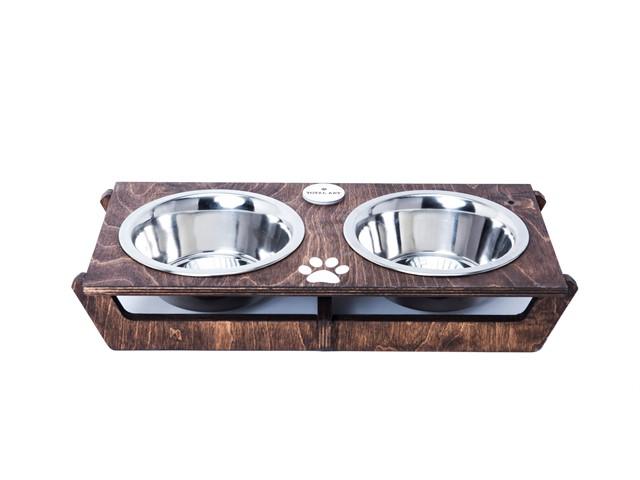 כלי אוכל ושתיה לכלב - שוטים M