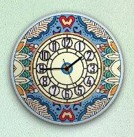 שעון קיר מעוצב, זכוכית אקרילית, דגם 2027  TIVA DESIGN