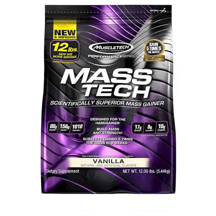 גיינר MuscleTech Mass Tech