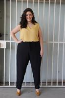 מכנס ריקו שחור