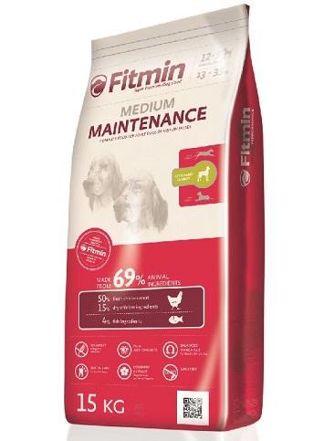 פיטמין מזון לכלבים 15 קג מדיום לכלב בוגר