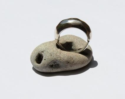 טבעת כסף