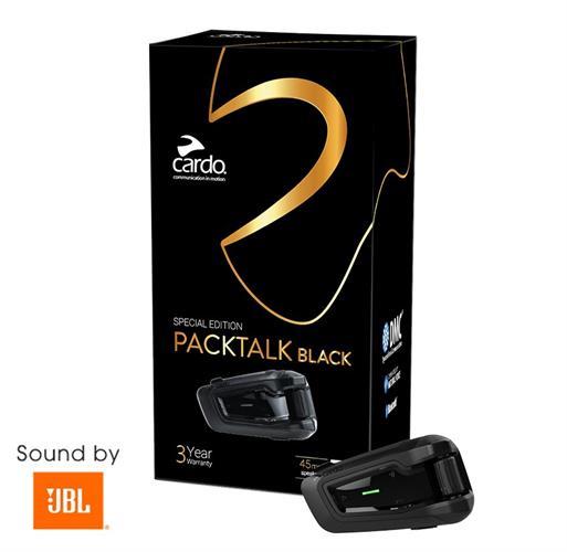 דיבורית לקסדה Cardo Scala Rider Packtalk Black