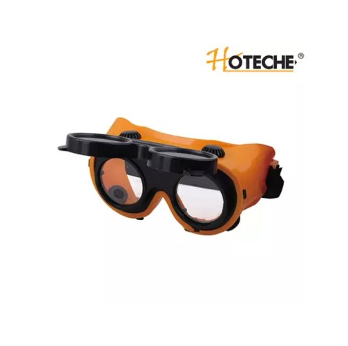משקפי אבק + משקפי ריתוך נח - מוצר כפול 2 ב 1