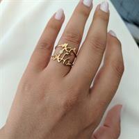 טבעת עם שמות הילדים