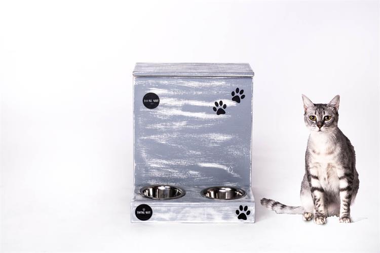 כלי אוכל ושתיה לחתול - ג'ולי S