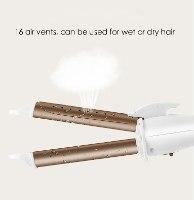 מחליק ומסלסל קומפקטי לעיצוב שיער