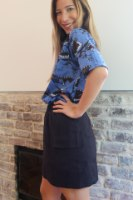חולצת שארק כחול