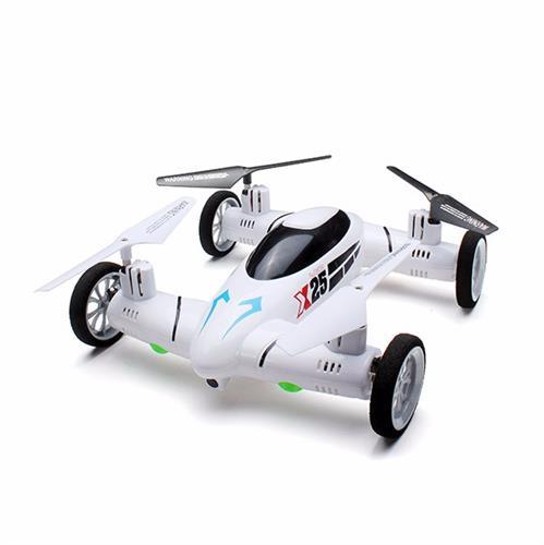 מיני רחפן מכונית מרוץ 8 ערוצים עם מצלמה 2.0 MP ושלט אלחוטי