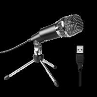 מיקרופון + חצובה שחורה FIFINE K668