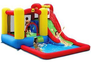 מתקן קפיצה ומים אזור ההרפתקאות הפי הופ - 9271 - Jump And Splash Adventure Zone Happy Hop