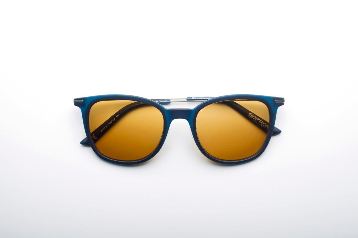 משקפי היפרלייט (נגד קרינה) דגם THE-0101GY צבע כסף