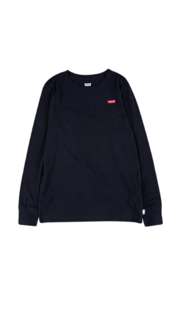 חולצת טישרט שחורה  לוגו קטן LEVIS (2-13)