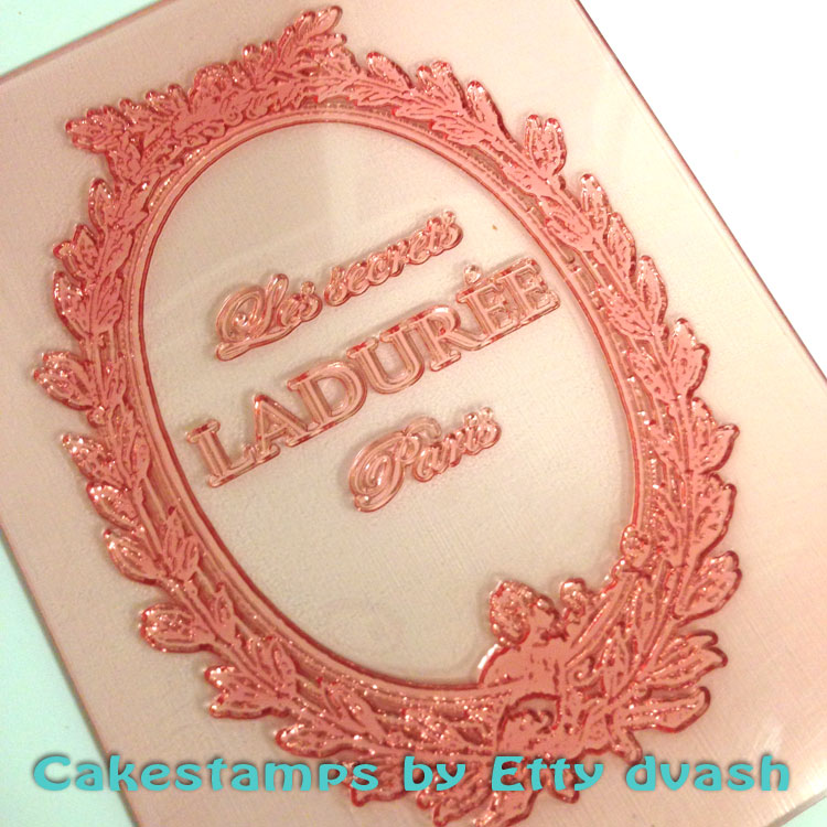 LADUREE PARIS STAMP