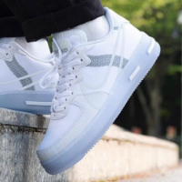 Nike Air Force 1 React qs White Ice