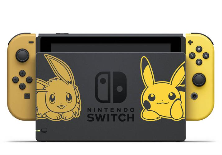 Nintendo Switch Pokemon Let's Go Pikachu- יבואן רשמי