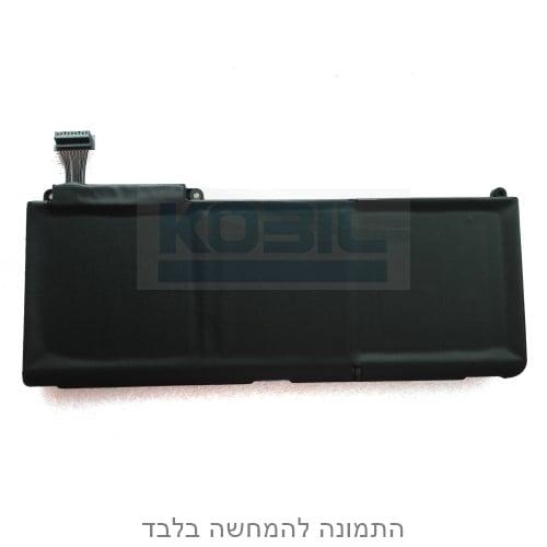 """סוללה חליפית למקבוק פרו MC207 MC516 דגם A1342 ו A1331 מתאים ל """"Macbook Pro 13.3 בהספק  10.95V/63.5"""