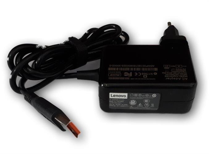 מטען למחשב נייד לנובו יוגה Lenovo 20V-2A USB Yoga 3