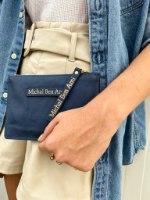 תיק קלאץ' בינוני כחול