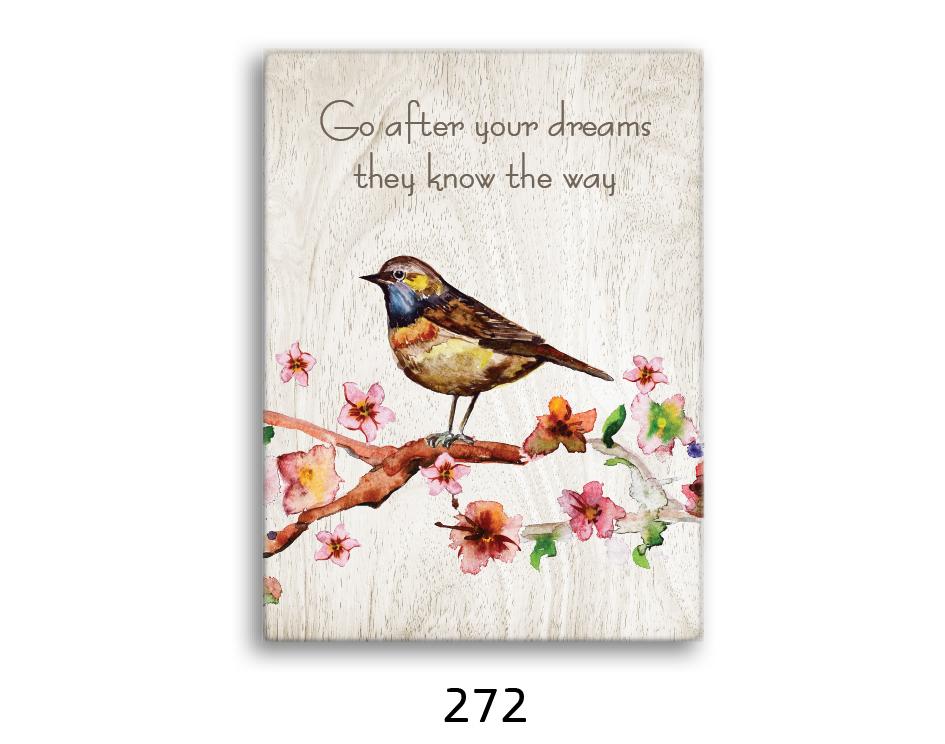 ציפור ההולכת אחרי החלומות שלה