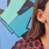 עגילי מעגל|עגילי יהלומים|עגילי עיגול