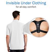 חגורת גב לתיקון היציבה ותמיכה בגב והכתפיים
