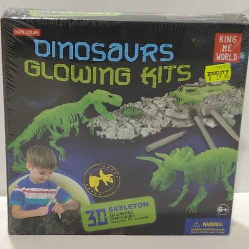 ערכת דינוזאורים זוהרים