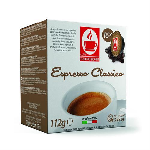 קפה בוניני AROMA CLASSICO תואם לוואצה מודו-מיו
