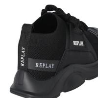 REPLAY נעל שחורה ספורט אלגנט מידות 21-39