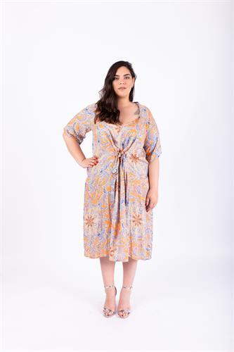 שמלת ברנדה כתומה