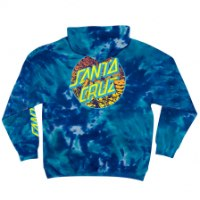 SANTA CRUZ Roskopp Dot PO Hooded Midweight Sweatshirt Multi Blue Mens
