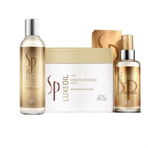 מארז וולה ספ לוקס אויל Wella SP Luxe Oil Kit