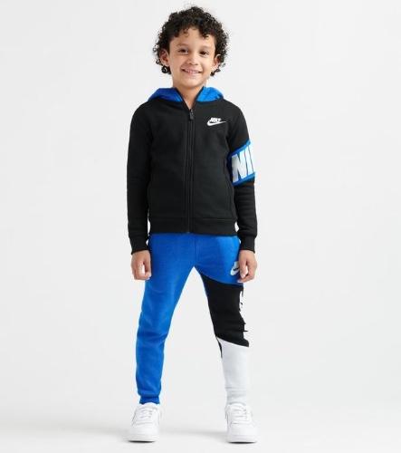 חליפת בנים NIKE קולור בלוק כחול - מידה 6