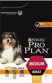 """אוכל לכלבים פרו פלאן לייט מדיום עוף 14ק""""ג - PRO PLAN LIGHT MEDIUM BREED CHICKEN 14 KG"""