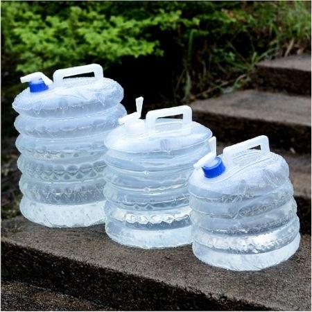 מיכל מים מתקפל ידידותי לסביבה