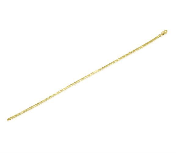 צמיד זהב לאישה או נערה|צמיד חריטת לייזר