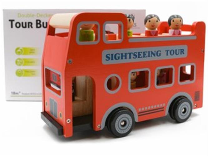 אוטובוס תיירים מעץ