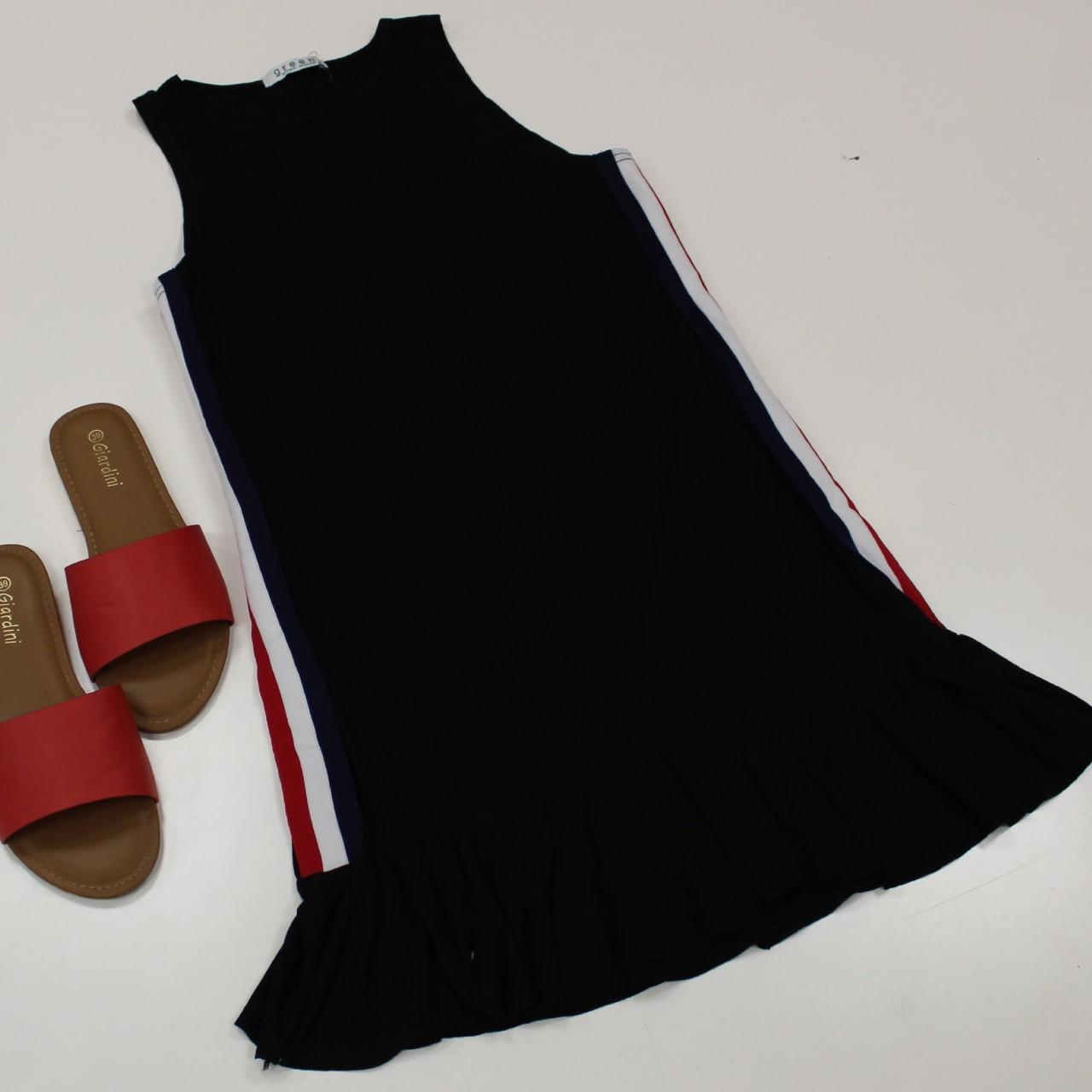 שמלה כתפייה סרט צד