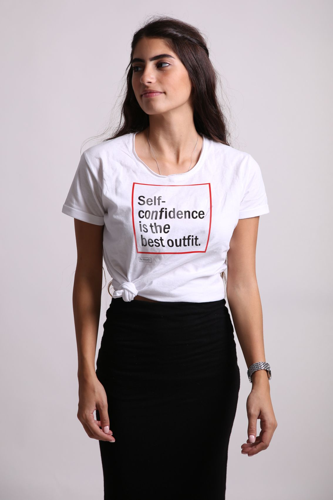 Self-Confidence Is The Best Outfit - Tshirt