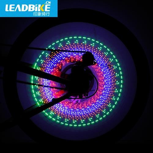 מקרן לד מדליק לגלגל אופניים - 30 עיצובים