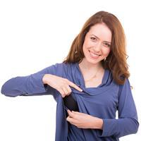 NursingAnywear טוניקת הנקה כנפיים