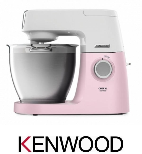 KENWOOD מיקסר שף 6.7 ליטר XL דגם KVL6100P ורוד