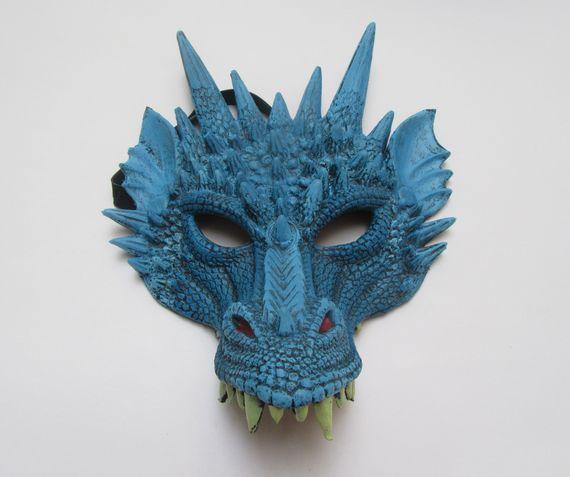 תחפושת דרקון משחקי הכס - דרקון כחול