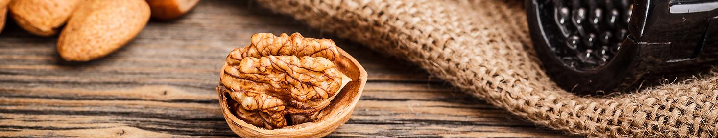 אגוזים ושקדים טבעיים 200 גרם - טעים בריא