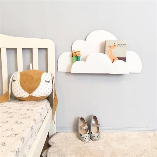 מדף ספר בצורת ענן